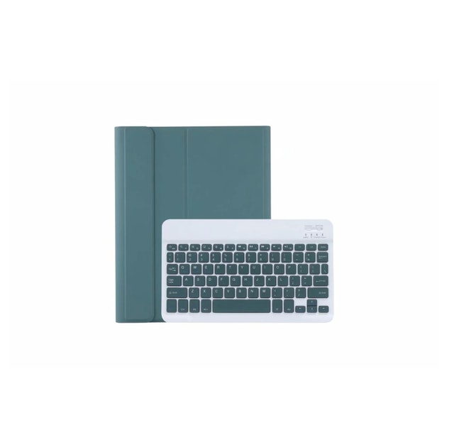 Candy color ultra-thin detachable Bluetooth keyboard leather case 1