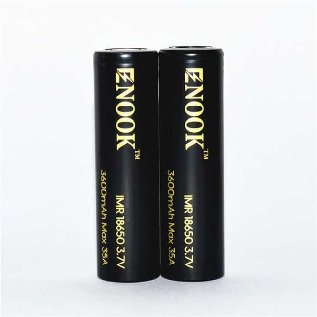 Enook 18650 Rechargeable Battery 2 pieces 1