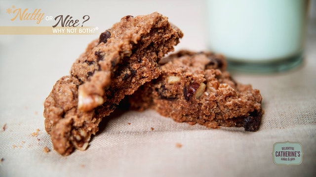 Catherine's Cakes and Pies Salted Chocolate Chip Walnut Cookies  1